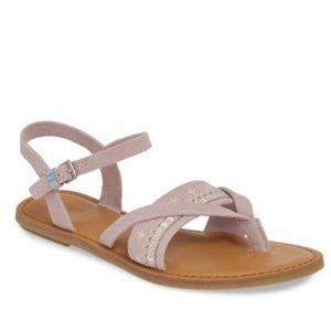 NEW TOMS Lexie Sandal Lilac